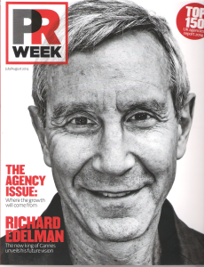 PR Week cover